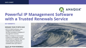 PATTSY WAVE IP Management Software and Services Data Sheet